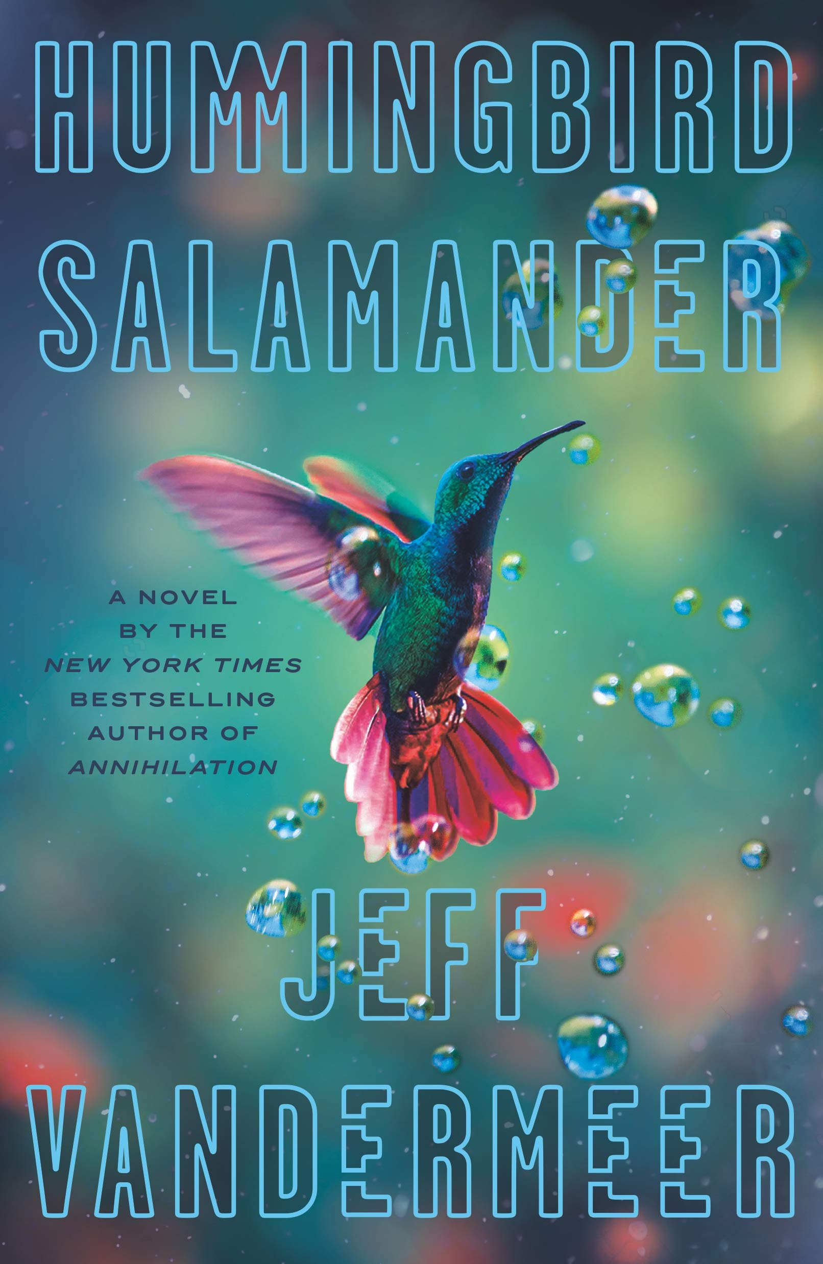 Hummingbird Salamander - Cover