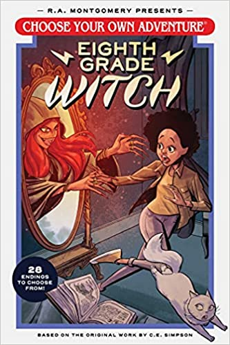 Choose Your Own Adventure - Eigth Grade Witch - cover