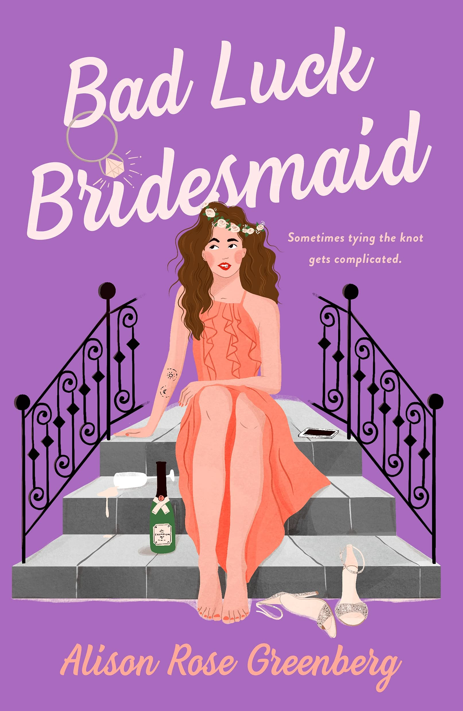 Bad Luck Bridesmaid - Cover